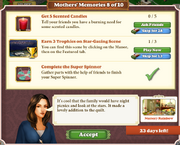 Quest Mother's Memories 8-Tasks