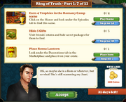 Quest Ring of Truth-Part One 7-Tasks