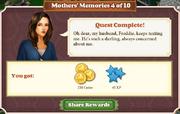 Quest Mother's Memories 4-Rewards