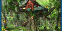 Secluded Treehouse (Scene)