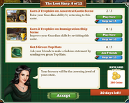Quest The Lost Harp 8 Tasks