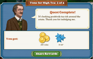 Quest Time For High Tea 2 Complete-Screenshot