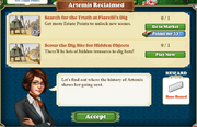 Quest Artemis Reclaimed-Tasks