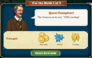 Quest For the Birds 1-Rewards