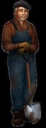 Character Bert Friendly