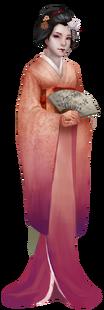 Character Sadayakko Neutral