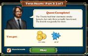 Quest Twin Hearts Part Three 2-Rewards