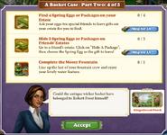Quest A Basket Case-Part Two 4-Tasks