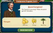 Quest Turquoise Pagoda 3-Rewards