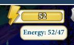 Energy glitch