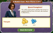 Quest A Basket Case-Part Three 1-Rewards