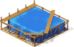 Freeitem Island Hut-construction