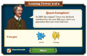 Quest Leaning Tower 4-Rewards