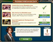 Quest Facetime with Lovers 5-Tasks