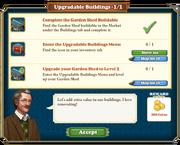 Quest Upgradable Buildings-Tasks
