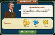 Quest A Bit O' Green 2-Rewards