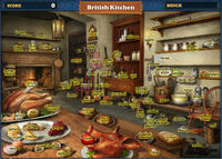 FastFind British Kitchen-Map