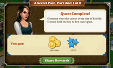 A secret past - Part One 1 of 9 complete