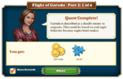 Quest Flight of Garuda Part Two 1-Rewards