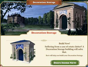 Decoration Storage Teaser