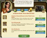 Quest A Secret Past 6-Tasks