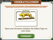 Questitem Kipling's Tiger-Reward