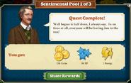 Quest Sentimental Pool 1-Rewards