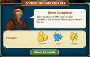 Quest Gardening Storage 4-Rewards