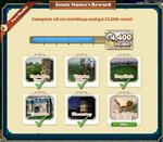 Estate Master's Reward-Info