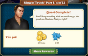 Quest Ring of Truth Episode-Part One 4-Rewards