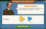 Quest Reading The Tea Leaves 1 Complete-Screenshot