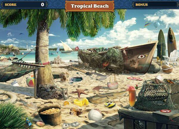 FastFind Scene Tropical Beach