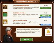 Quest Geoffrey's Safe Room 7-Tasks