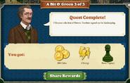 Quest A Bit O' Green 3-Rewards