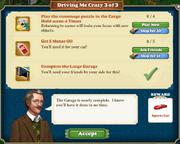 Quest Driving Me Crazy 3-Tasks