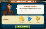 Quest Innovation in Decoration 4-Rewards