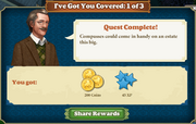Quest I've Got You Covered 1-Tasks-Rewards