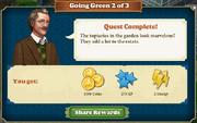 Quest Going Green 2-Rewards