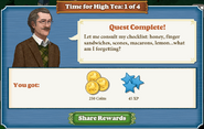 Quest Time For High Tea 1 Complete-Screenshot