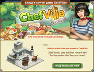 Zynga Crosspromotion ChefVille