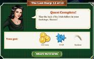 Quest The Lost Harp 12 Rewards