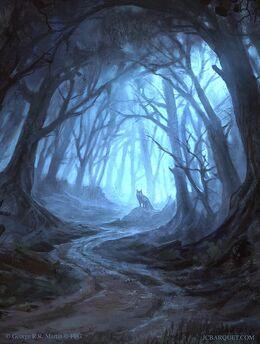 The Wolfswood by Juan Carlos Barquet, Fantasy Flight Games©