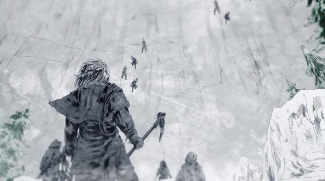 Archivo:Raymun Barbarroja y su ejército escalan el Muro (Histories & Lore).png