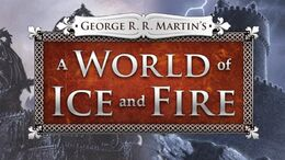 A World of Ice and Fire