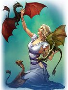 Dany & Dragons by Mike S. Miller©