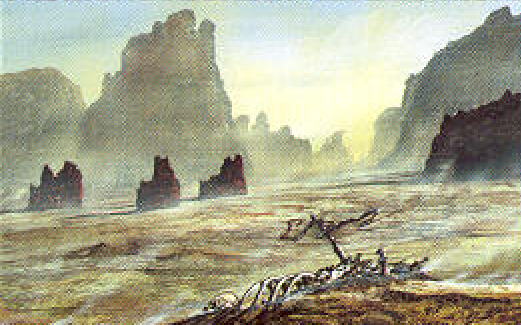 Archivo:Desolate Canyon by Franz Miklis, Fantasy Flight Games©.png