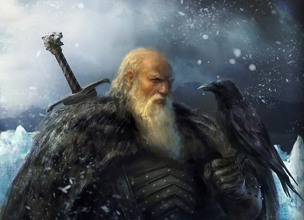 Archivo:Jeor Mormont by Antonio José Manzanedo, Fantasy Flight Games©.jpg