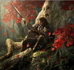 Ned Stark by Michael Komarck, Fantasy Flight Games©
