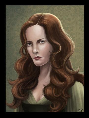Archivo:Catelyn Stark by Majoh©.jpg