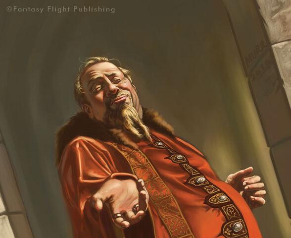 Archivo:Magister Illyrio by Jake Murray, Fantasy Flight Games©.jpg